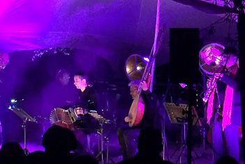 Concert 'Nachtgeluiden' van André Heuvelman & band in Kwintelooyen (Rhenen)