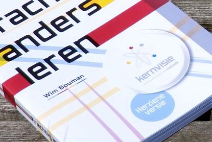 Deel van de cover van het boek Krachtig anders leren van Wim Bouman